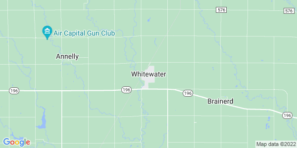 Map of Whitewater, KS