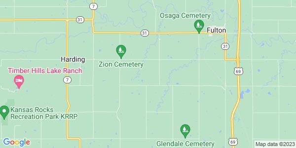 Map of Freedom, KS