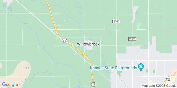 Map of Willowbrook, KS