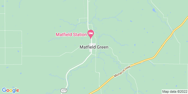 Map of Matfield Green, KS