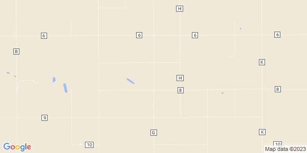 Map of West Hibbard, KS