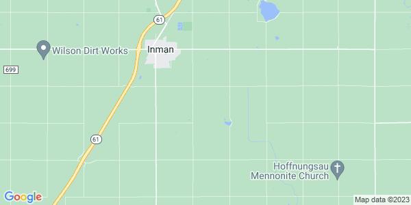 Map of Superior, KS