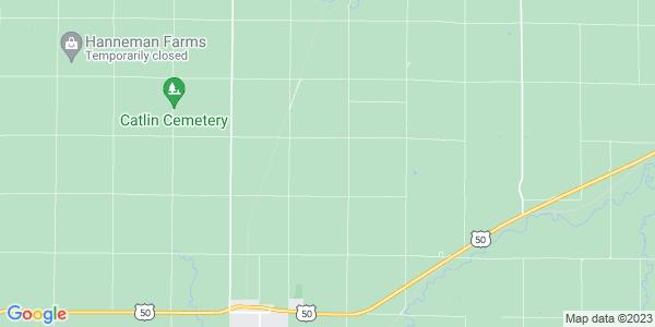 Map of Catlin, KS