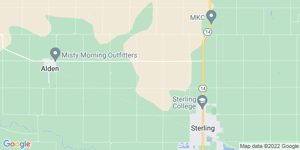 Map of Sterling Township, KS