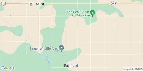 Map of Raymond Township, KS