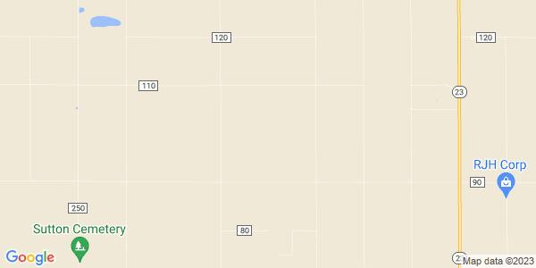 Map of Dighton Township, KS