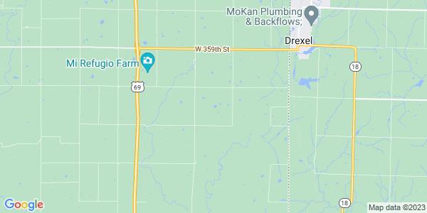 Map of Sugar Creek, KS