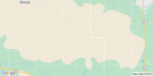 Map of Eureka, KS