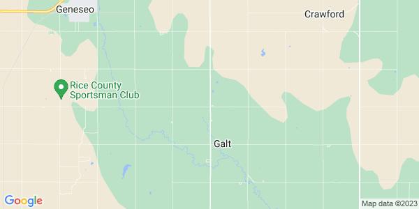 Map of Galt, KS