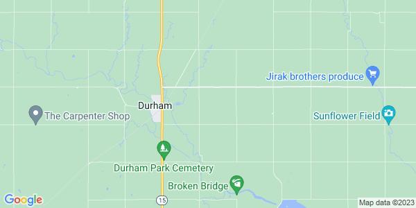 Map of Durham Park, KS