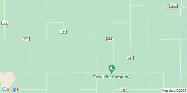 Map of South Sharps Creek, KS