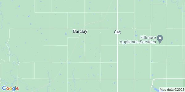Map of Barclay, KS