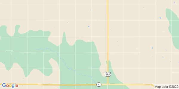 Map of Albion, KS