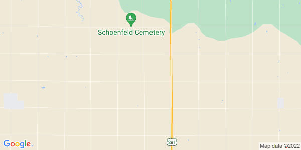 Map of Wheatland, KS