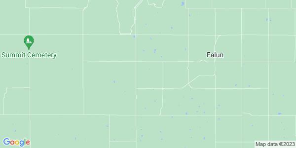 Map of Falun Township, KS