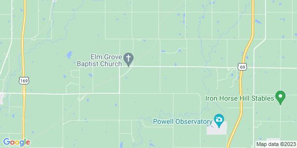 Map of Ten Mile, KS