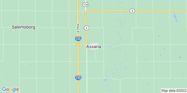Map of Assaria, KS
