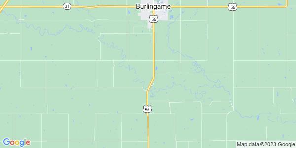 Map of Dragoon, KS