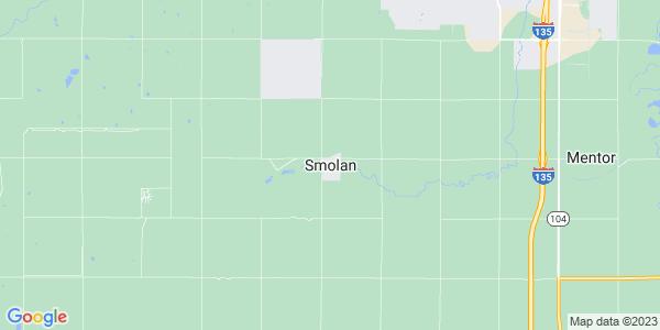 Map of Smolan, KS