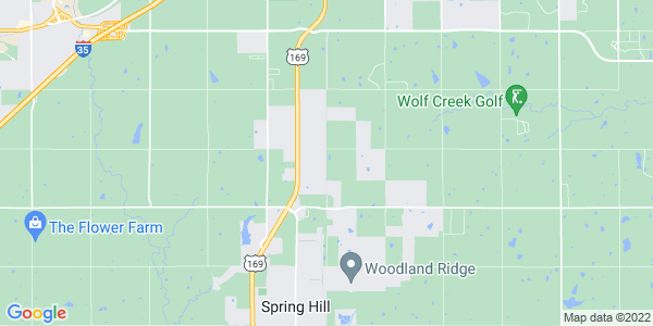 Map of Spring Hill Township, KS