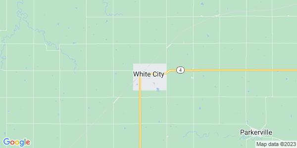 Map of White City, KS