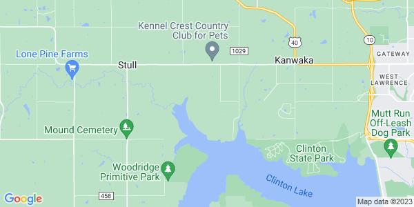 Map of Kanwaka, KS