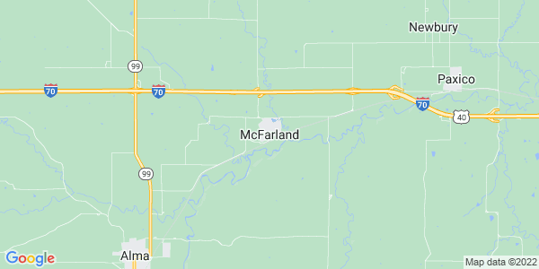Map of McFarland, KS