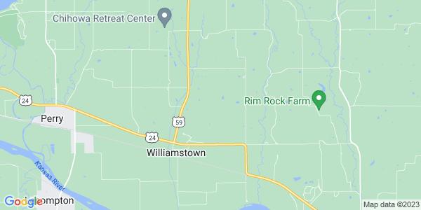 Map of Rural, KS