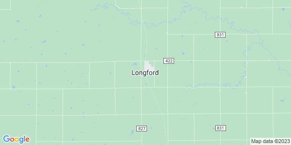 Map of Longford, KS