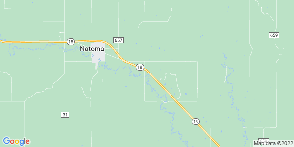 Map of Natoma Township, KS
