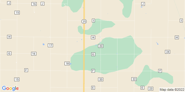 Map of Summers, KS
