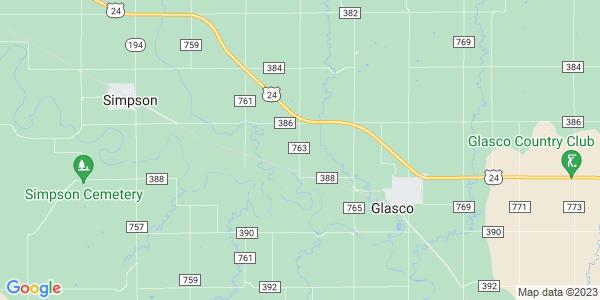 Map of Solomon, KS
