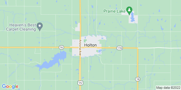 Map of Holton, KS