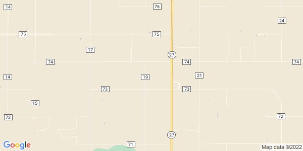 Map of Voltaire, KS