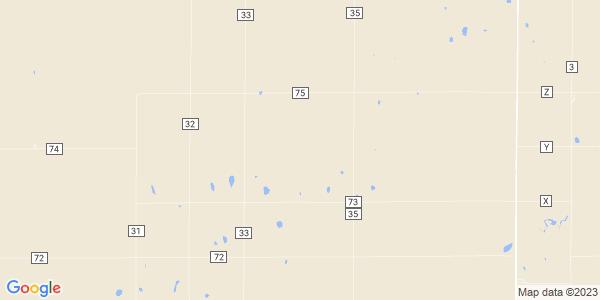 Map of Llanos, KS