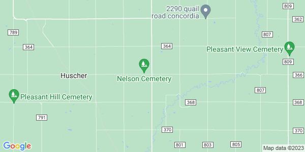 Map of Nelson, KS