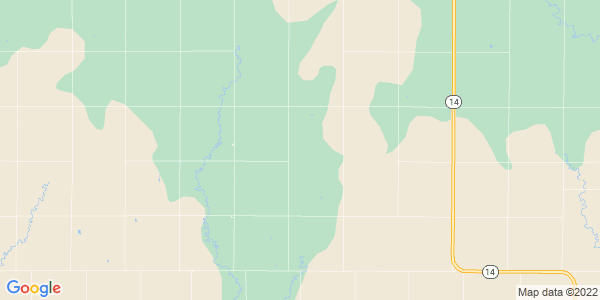 Map of Browns Creek, KS