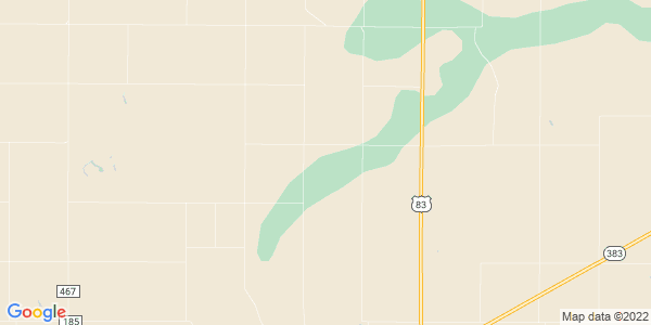 Map of Prairie Dog, KS
