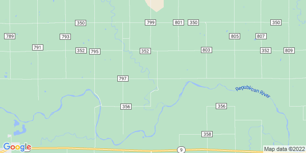 Map of Lawrence, KS