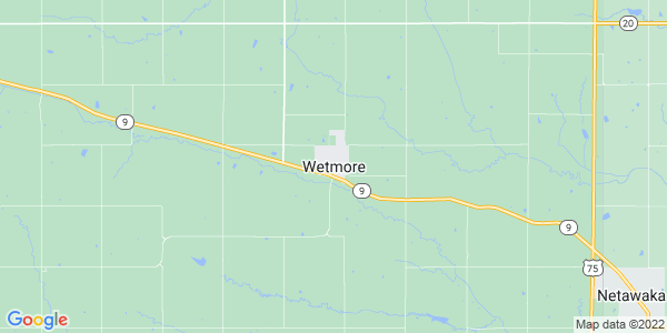 Map of Wetmore, KS