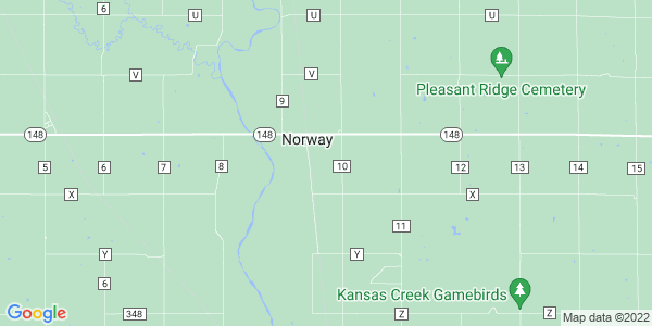 Map of Norway, KS