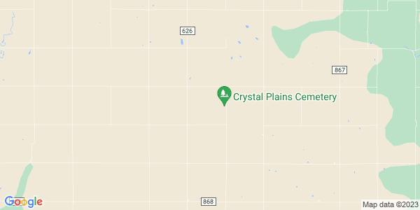 Map of Crystal Plains, KS