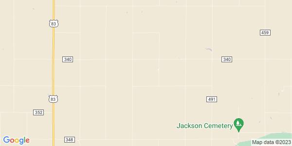 Map of Custer, KS