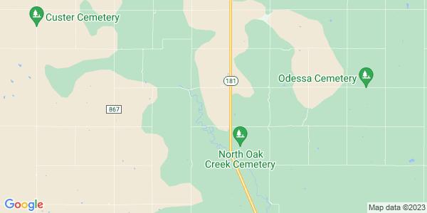 Map of Webster, KS