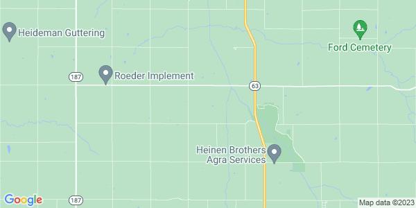 Map of Mitchell, KS