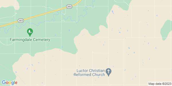 Map of Prairie View Township, KS