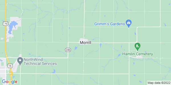 Map of Morrill, KS