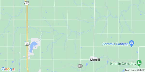 Map of Morrill Township, KS