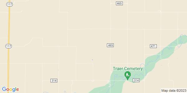 Map of Finley, KS