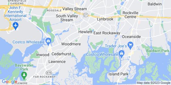 Map of Hewlett Bay Park, NY